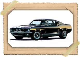 Shelby Mustang GT-350 1967 model