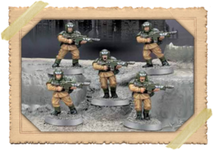 Warhammer 40000 Imperial Guard Cadians