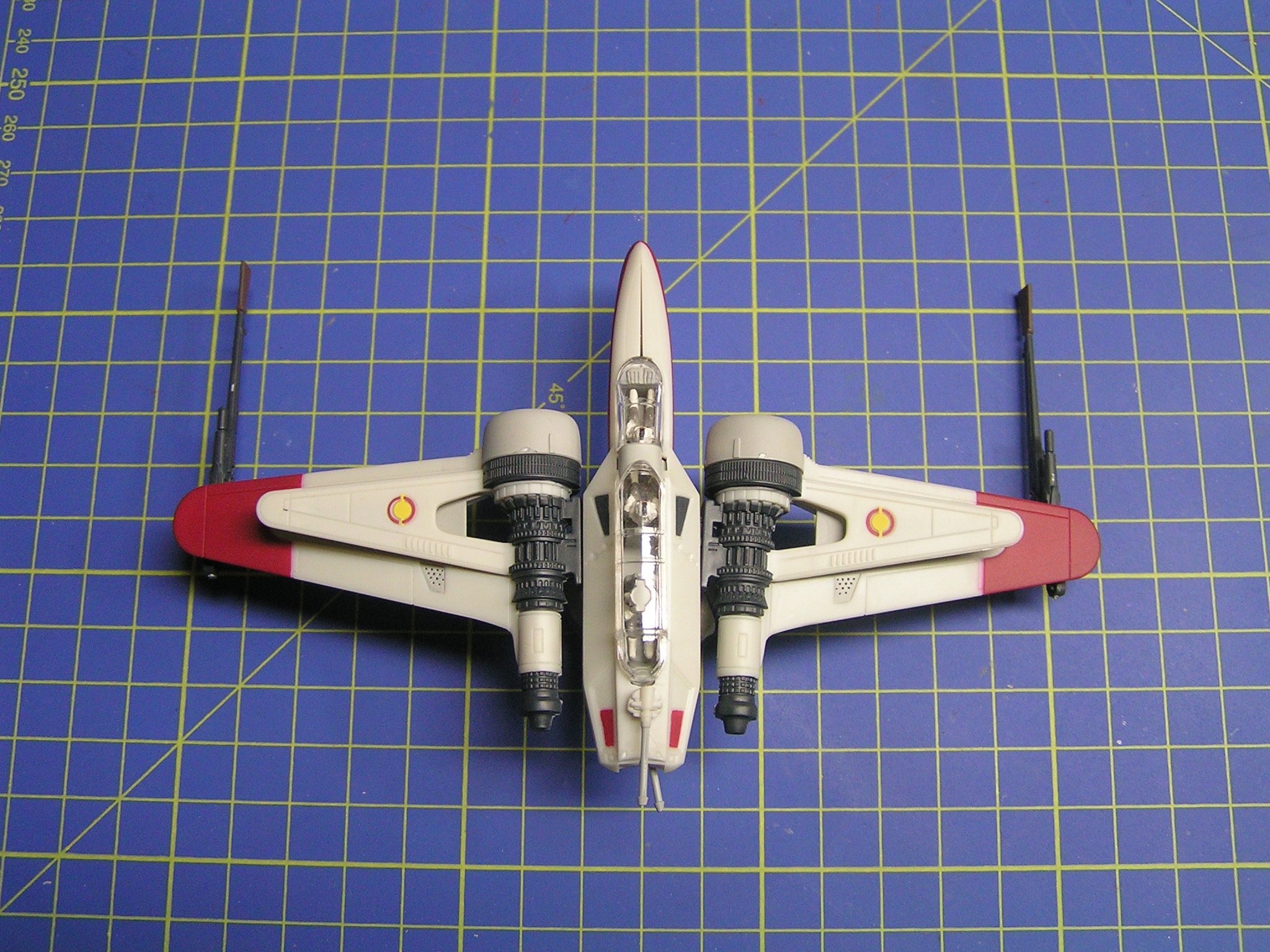 model Aggressive ReConnaissance-170 starfighter Star Wars ACR-170 revell 1:83 easy pocket