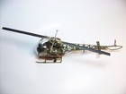 Bell 47 helicopter model