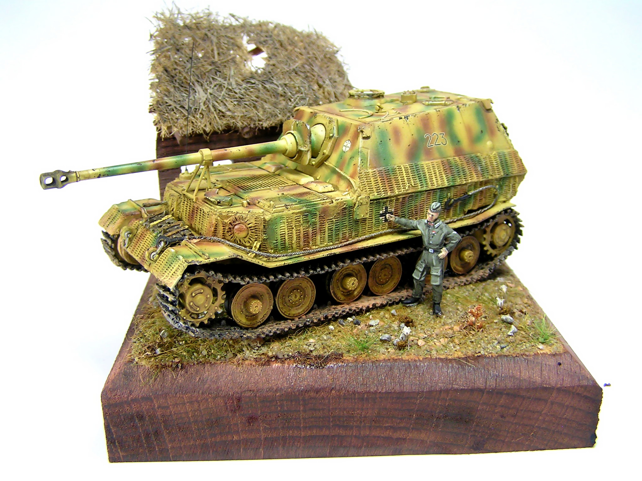 model Sd.Kfz.184 Elefant Trumpeter 1/72