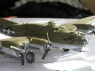 model B-17  Flying Fortress