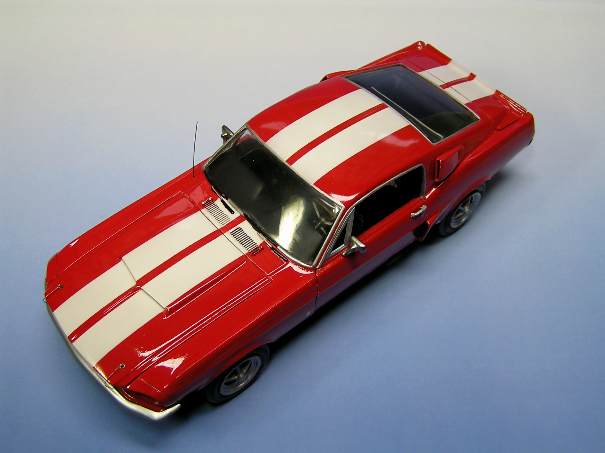 model Shelby Mustang GT-350 1967 AMT 1/25