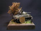 model M4A3 105mm HVSS Sherman Dragon 1/72