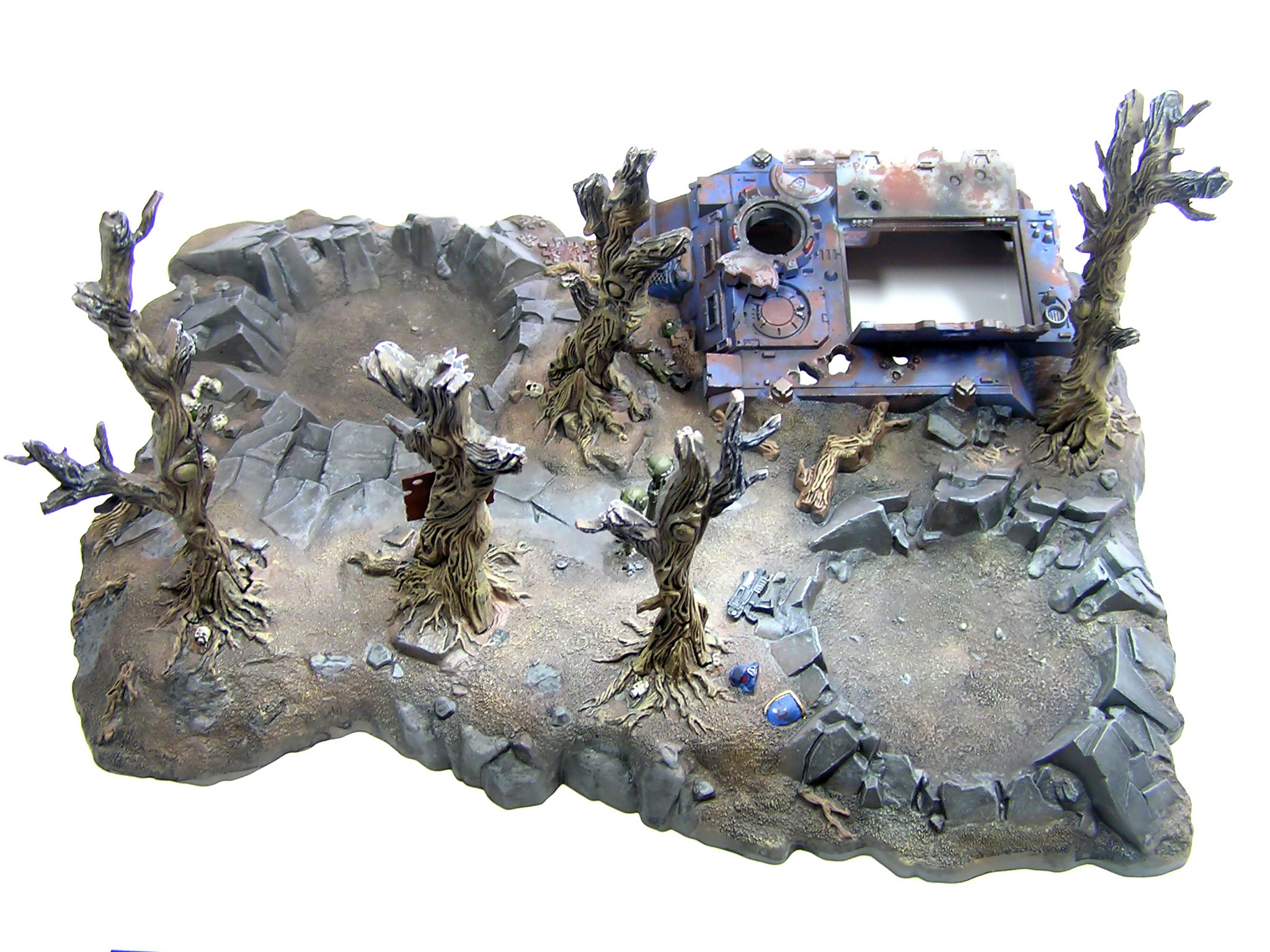 model terénu Warhammer 40000 Battlescape od Games Workshop