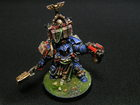 model Warhammer 40000 Space Marine Librarian in Terminator Armour